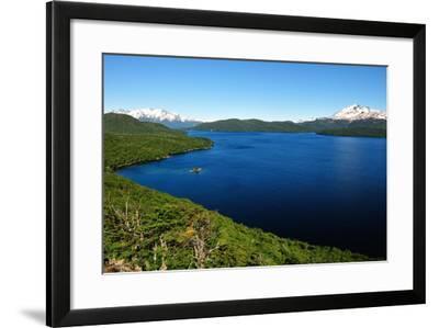 Silver Lake, Patagonia, Argentina, South America-Pablo Cersosimo-Framed Photographic Print