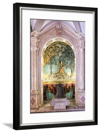 Altar and Paintings, Convento De Nossa Senhora Da Conceicao (Our Lady of the Conception Convent)-G&M Therin-Weise-Framed Photographic Print
