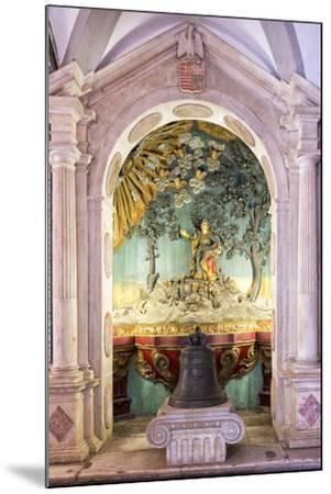 Altar and Paintings, Convento De Nossa Senhora Da Conceicao (Our Lady of the Conception Convent)-G&M Therin-Weise-Mounted Photographic Print