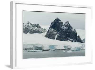 Cuverville Island, Antarctica-Natalie Tepper-Framed Photo
