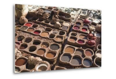 Tannery, Fes, Morocco-Natalie Tepper-Metal Print