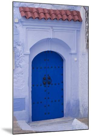 Chefchaouen, Morocco-Natalie Tepper-Mounted Photo
