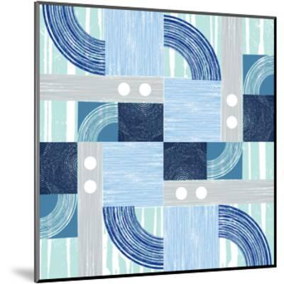 Curves & Lines 3-Art Kitchen-Mounted Premium Giclee Print