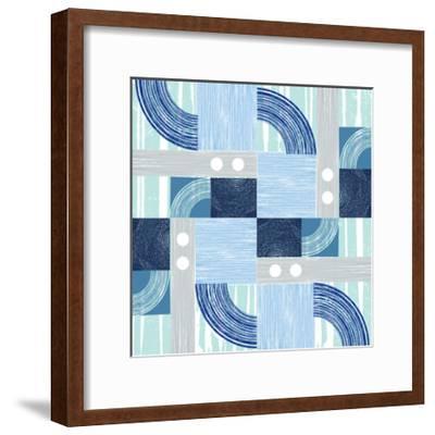Curves & Lines 3-Art Kitchen-Framed Premium Giclee Print