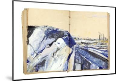 Sketchbook Landscape 4-The Trainyard Cooperative-Mounted Premium Giclee Print