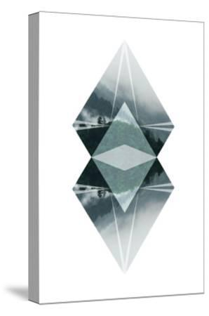 Diagonal Horizons 2-Port 106 Project-Stretched Canvas Print