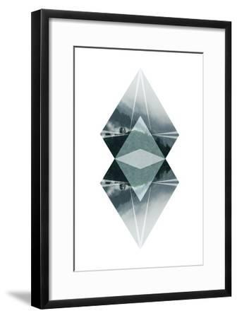 Diagonal Horizons 2-Port 106 Project-Framed Premium Giclee Print