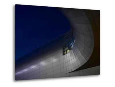 Low Angle View of Exterior of Dublin Airport, Terminal 2, Republic of Ireland-Ian Bruce-Metal Print