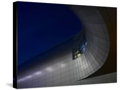 Low Angle View of Exterior of Dublin Airport, Terminal 2, Republic of Ireland-Ian Bruce-Stretched Canvas Print