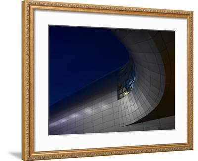 Low Angle View of Exterior of Dublin Airport, Terminal 2, Republic of Ireland-Ian Bruce-Framed Photo