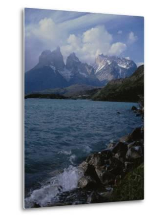 Lake Pehoe, Torres Del Paine National Park, Patagonia, Chile-Natalie Tepper-Metal Print