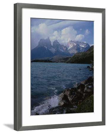 Lake Pehoe, Torres Del Paine National Park, Patagonia, Chile-Natalie Tepper-Framed Photo