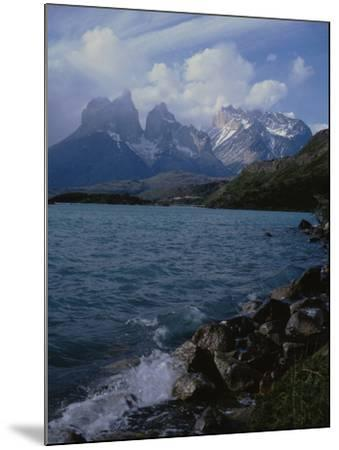 Lake Pehoe, Torres Del Paine National Park, Patagonia, Chile-Natalie Tepper-Mounted Photo