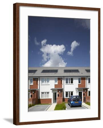Car Parked in Driveway-Benedict Luxmoore-Framed Photo