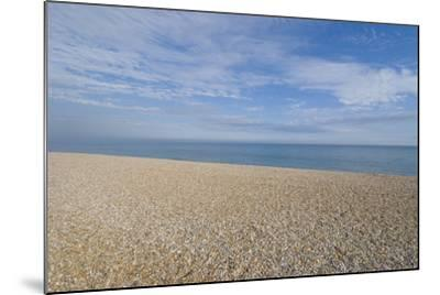 Pebble Beach, Bexhill-On-Sea, East Sussex, England-Natalie Tepper-Mounted Photo