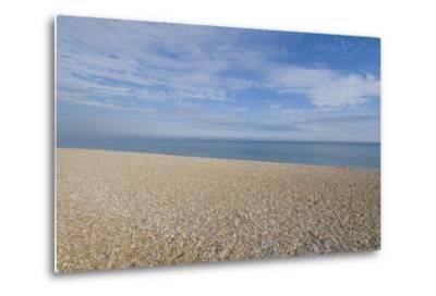 Pebble Beach, Bexhill-On-Sea, East Sussex, England-Natalie Tepper-Metal Print