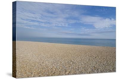 Pebble Beach, Bexhill-On-Sea, East Sussex, England-Natalie Tepper-Stretched Canvas Print
