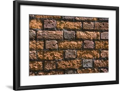 Detail of an Ancient Brick Wall-Natalie Tepper-Framed Photo