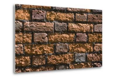Detail of an Ancient Brick Wall-Natalie Tepper-Metal Print