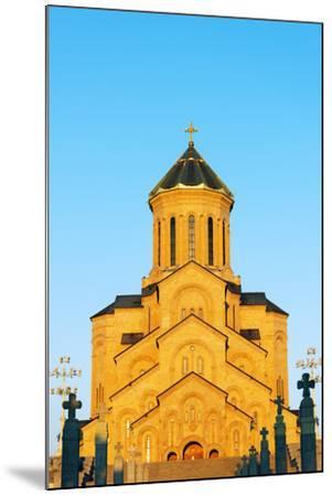 Eurasia, Caucasus Region, Georgia, Tbilisi, Tbilisi Sameda Cathedral-Christian Kober-Mounted Photographic Print