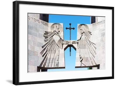 Eurasia, Caucasus Region, Armenia, Echmiatsin Cathedral, UNESCO World Heritage Site-Christian Kober-Framed Photographic Print