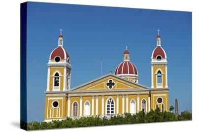 Nicaragua, Granada. the Cathedral of Granada.-Nick Laing-Stretched Canvas Print
