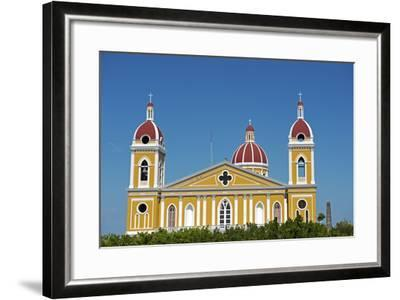 Nicaragua, Granada. the Cathedral of Granada.-Nick Laing-Framed Photographic Print