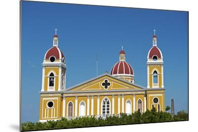 Nicaragua, Granada. the Cathedral of Granada.-Nick Laing-Mounted Photographic Print