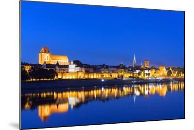 Europe, Poland, Gdansk and Pomerania, Torun, UNESCO Medieval Old Town, Vistula River-Christian Kober-Mounted Photographic Print