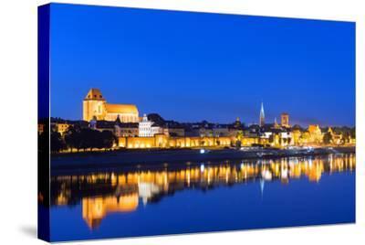Europe, Poland, Gdansk and Pomerania, Torun, UNESCO Medieval Old Town, Vistula River-Christian Kober-Stretched Canvas Print