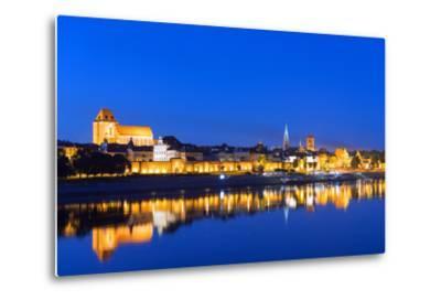 Europe, Poland, Gdansk and Pomerania, Torun, UNESCO Medieval Old Town, Vistula River-Christian Kober-Metal Print