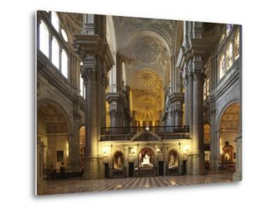The Cathedral of Mßlaga Is a Renaissance Church in City of Mßlaga in Andalusia in Southern Spain-David Bank-Metal Print