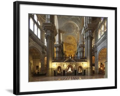 The Cathedral of Mßlaga Is a Renaissance Church in City of Mßlaga in Andalusia in Southern Spain-David Bank-Framed Photographic Print