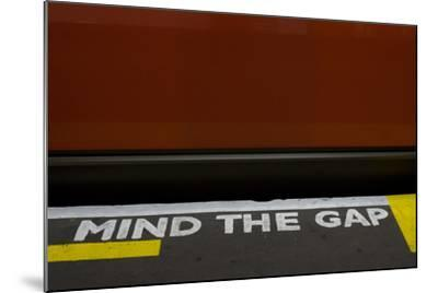 Mind the Gap-Natalie Tepper-Mounted Photo