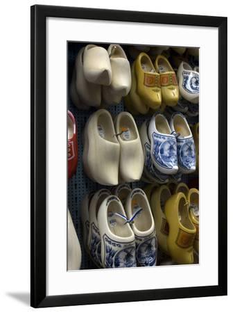Dutch Clogs, Amsterdam, Netherlands-Natalie Tepper-Framed Photo