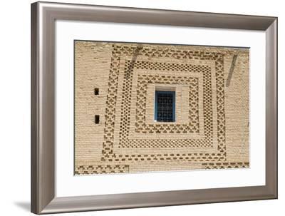 Window, Medina (Old Town), Tozeur-Natalie Tepper-Framed Photo