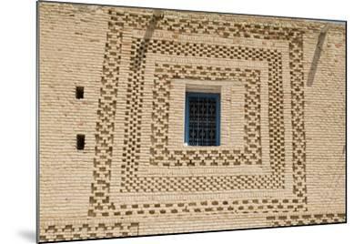 Window, Medina (Old Town), Tozeur-Natalie Tepper-Mounted Photo