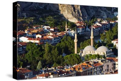 Turkey, Central Anatolia, Amasya, Sultan Beyazit Ii Camii Mosque-Christian Kober-Stretched Canvas Print