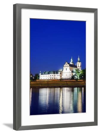 Europe, Poland, Malopolska, Krakow, Church on the Rock-Christian Kober-Framed Photographic Print