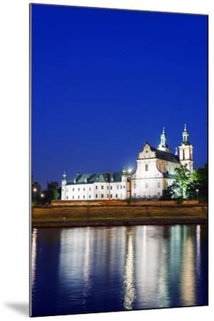 Europe, Poland, Malopolska, Krakow, Church on the Rock-Christian Kober-Mounted Photographic Print
