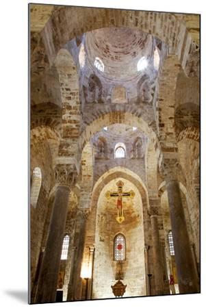 Italy, Sicily, Palermo. Interior of Church of San Cataldo.-Ken Scicluna-Mounted Photographic Print