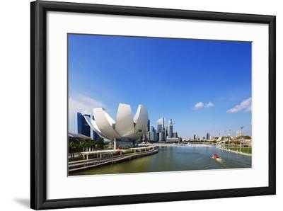 South East Asia, Singapore, Art Science Museum by the Bay-Christian Kober-Framed Photographic Print