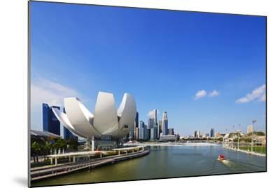 South East Asia, Singapore, Art Science Museum by the Bay-Christian Kober-Mounted Photographic Print