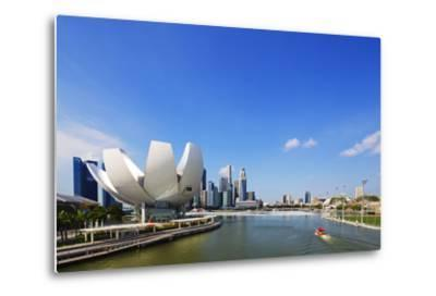 South East Asia, Singapore, Art Science Museum by the Bay-Christian Kober-Metal Print