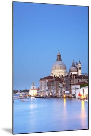 Italy, Veneto, Venice. the Church of Santa Maria Della Salute and the Grand Canal. Unesco.-Ken Scicluna-Mounted Photographic Print
