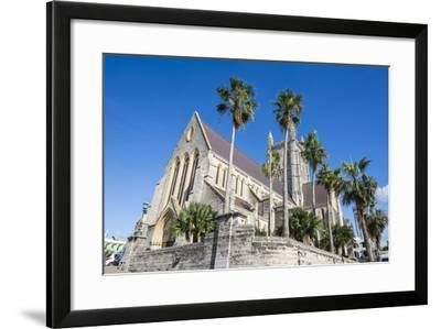 Bermuda Anglican Cathedral, Hamilton Capital Of, Bermuda, United Kingdom-Michael Runkel-Framed Photographic Print