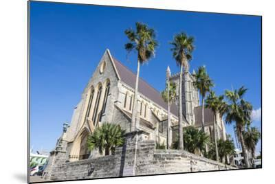 Bermuda Anglican Cathedral, Hamilton Capital Of, Bermuda, United Kingdom-Michael Runkel-Mounted Photographic Print