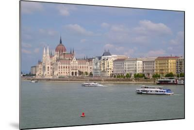 The Hungarian Parliament Building, Budapest, Hungary, Europe-Carlo Morucchio-Mounted Photographic Print