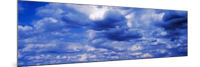 Storm Clouds in the Sky--Mounted Photographic Print
