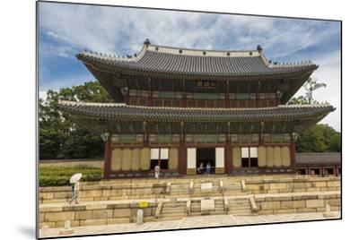 Injeongjeon Main Palace Building, Changdeokgung Palace, Seoul, South Korea, Asia-Eleanor Scriven-Mounted Photographic Print